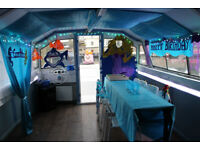 Kids Birthday Parties Mermaids on a boat venue