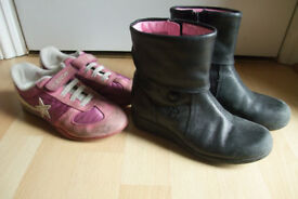 Girl's clarks shoes