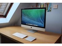 """APPLE IMAC 27"""" A1419 I7 16GB RAM 1TB HD - IMMACULATE, COMES WITH WARRANTY AND RECEIPT"""