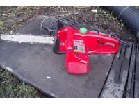 used 230v electric chain saw