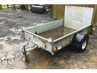Ifor Williams P6E trailer, Flotation Tyres & Rear Ramp