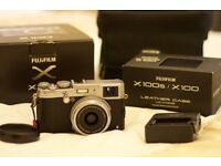 Fuji X100S rangefinder digital camera