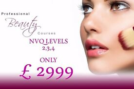 BEAUTY COURSES NVQ, SHORT COURSES & HAIRDRESSING/BARBERING COURSES