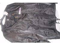New XL Mens Sportswear black jacket