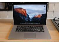 "CHEAP 15"" MacBook Pro Retina, 3.3GHz - i7, 512GB SSD, CS6, Logic Pro, Final Cut, AutoCAD, Office"
