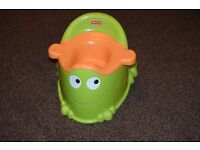 Fisher Price Froggy Toddler Toilet Training Potty