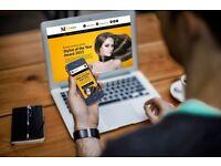 WEBSITE DESIGN GRAPHIC DESIGN SEO SOCIAL MEDIA MARKETING ECOMMERCE SHOP ONLINE £500 grant