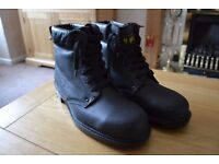 Work Boots Leather Arco New size 11 Steel toe cap