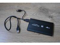 External USB 500GB Backup Hard Drive for MacBook or Windows PC