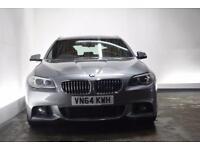 BMW 5 SERIES 3.0 530D M SPORT TOURING 5d AUTO 255 BHP (grey) 2014