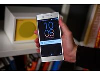 Sony Xperia Xz... Unlocked..In Platinum Silver...Sleek looking Phone... £425 boxed with accessories