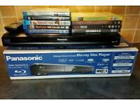 Panasonic DMP-BD85 BluRay DVD Player + 9 disc