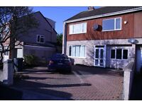 Large 4 Bedroom Semi-detached House close to 15mins from City Centre for Rent