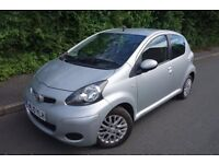 2010 TOYOTA AYGO, 1L, £20 TAX, LOW MILEAGE, ALLOY WHEELS, AUX, HALF LEATHER, HPI CLEAR not yaris 106