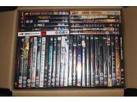 38 Horror DVDs