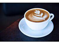 Barista/cafe worker for independent cafe