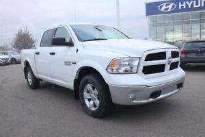 2017 Ram 1500 OUTDOORSMAN | LOW KMS | TOW HITCH | BACKUP CAM