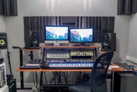 Sound proofed music studios in Hackney Wick warehouse conversion