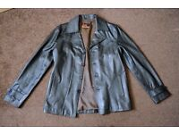 Soul revolver 'Heist' leather jacket XL (coffee)