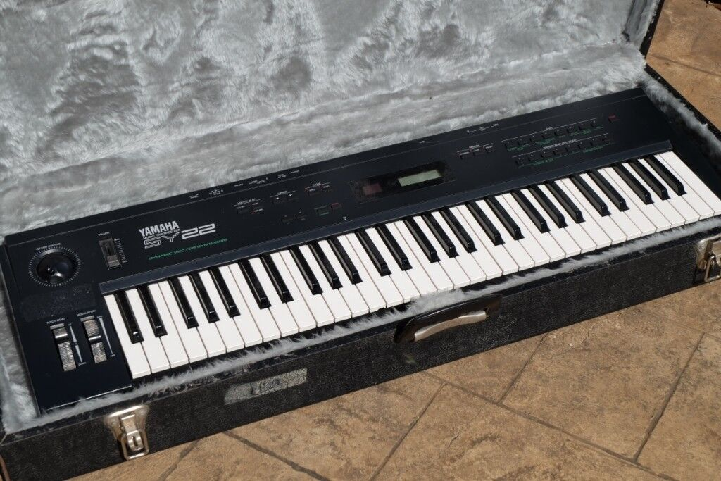 [SOLD] Yamaha SY22 Synthesizer Keyboard | in Bexley, London | Gumtree