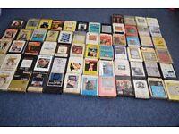 audio cassette - large bundle . 64 pcs.