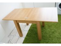 Next 4-6 Seater Square To Rectangle Dining Table