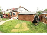 FANTASTIC 4 DOUBLE BEDROOM 2 BATH PROPERTY WITH HUGE GARDEN, 2 CAR PARKING NR ZONE 3 TUBE & BUSES