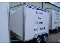 Hire trailers from Tow-Win Equipment