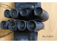 BINOCULARS TOTAL OF FOUR. FOR £8.00.