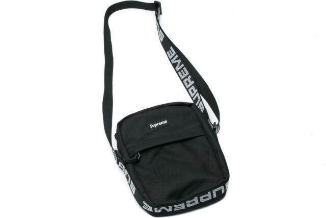 f98994b1278 Men's Supreme SS18 Man Bag Side Bag Shoulder Bag Black | in ...
