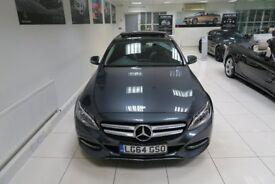 MERCEDES-BENZ C CLASS 2.1 C220 CDI BlueTEC Sport (Premium) 7G-Tronic Plus 4dr Auto (grey) 2014