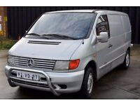 NEAT LEFT HAND DRIVE MERCEDES BENZ VITO,DRIVES SMOOTHLY, ENGINE &GENERAL MECHANICS IN TOP FORM..CALL