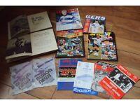 4 Football books 1962/94/95 + 8 Programmes