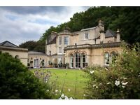 RESIDENT MANAGEMENT COUPLE FOR LUXURY BOUTIQUE B&B IN BATH - PARADISE HOUSE