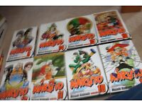 Naruto Manga Set Volumes 2-17