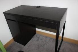 Ikea Micke desk and office swivel chair
