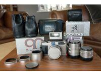 Contax G1 Green label, 28mm, 45mm, 90mm & TLA-200