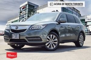 2015 Acura MDX Tech at Accident Free| Navigation| DVD