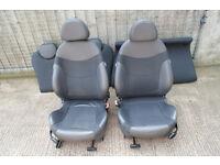 Complete R50-53 Mini Half Leather Seats