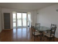 AVAILABLE NOW! Spacious 1 bed flat in Naxos Building. RIVER VIEWS/ GYM/ CONCIERGE/ SAUNA/ JACUZZI.