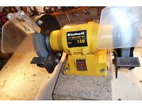 """6""""BENCH GRINDER, used but in good condition. £15"""
