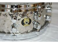 For Sale Mapex Black Panther Hammered 14 x 5.5 snare drum.