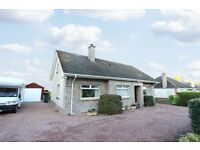 Spacious Detached 3/4 Bedroom Bungalow in Nairn with gardens, driveway, timber garage, summerhouse!