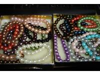 HUGE SELECTION OF NECKLACES, EARRINGS, RINGS, BRACELETS...GOLD , SILVER AND COSTUME...OFFERS