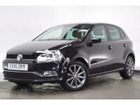 VOLKSWAGEN POLO 1.0 SE DESIGN 5d 60 BHP (black) 2015