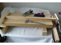 Workbench, Table-Top inbuilt bench vice, pegs and bench-pin
