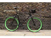 Special Offer GOKU CYCLES Steel Frame Single speed road bike TRACK bike fixed gear fixie bike G7
