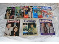 1982 Scouting Magazines - 75th Anniversary Of Scouting: The Complete Year 12 copies