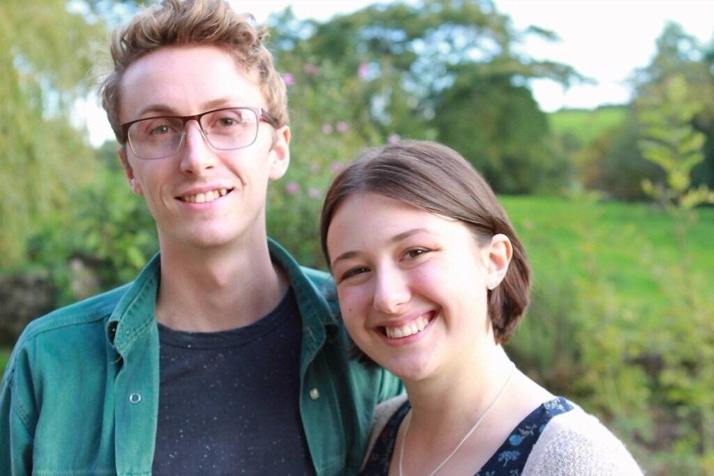 Young couple looking for rural house to rent