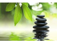 Hot stones massage treatments